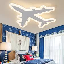 chambre garcon avion enfants de chambre aircraf led plafond le simple moderne de