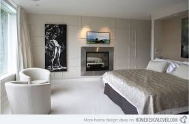 fireplace for bedroom 20 modern bedroom with fireplace designs home design lover
