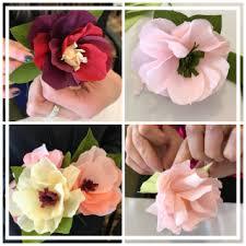 flowers for house wren studio paper flowers for springtime