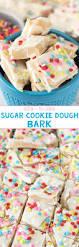 sugar cookie bark crazy for crust