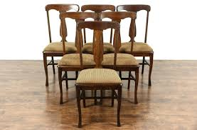 dining chairs chair oak dining room table and 6 chairs sets of