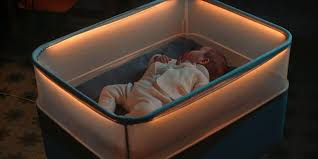 How To Get Your Baby To Sleep In The Crib by Ford Has Created A Baby Crib That Simulates Driving Business Insider