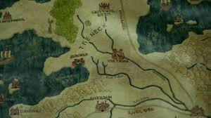 Got Map Ten Towers Game Of Thrones Wiki Fandom Powered By Wikia