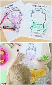 free printable from bitsycreations for father u0027s day kids can draw