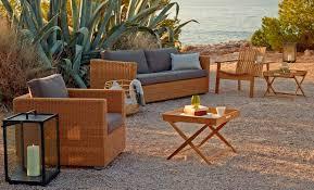 Outdoor Furniture Mallorca by Cane Line Outdoor Sofa Chester Mediterranean Living Mallorca