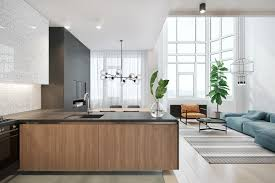 carrying patterns and colours across living spaces kitchen