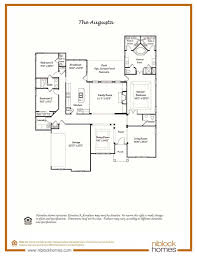 How To Draw A Kitchen Floor Plan Augusta Floor Plan Single Level Living Niblock Homes