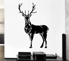 deer stickers for wall part 24 50 brown birch trees decal with deer stickers for wall part 21 57x88cm high quality wall decal deer horn elk