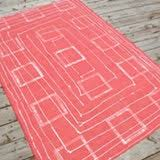 How To Make An Outdoor Rug Easy Diy Outdoor Rug Apartment Therapy