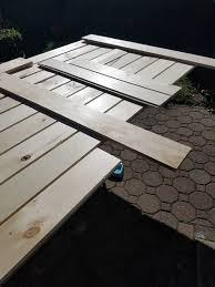 How To Build Barn Doors Sliding How To Build A Sliding Barn Door For Less