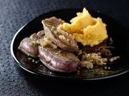 cuisiner le foie de veau foie de veau au vinaigre balsamique recettes femme actuelle