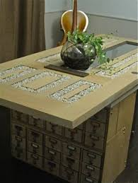 repurposed dining table dining table repurposed front door card catalog birch ikea