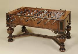 maitland smith game table maitland smith maitland smith 3130 160 foosball table game table
