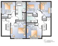 multi family plan w3062 detail from drummondhouseplans com two