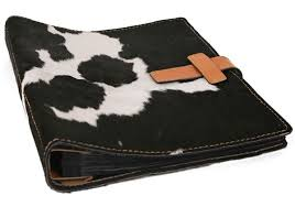 Handmade Leather Photo Albums Rodeo Large Bull Handmade Leather Bound Post Bound Photo Albums