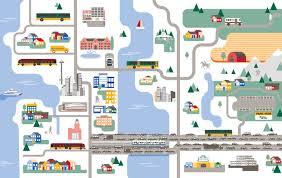 Seatac Map Service Network Long Range Transit Plan