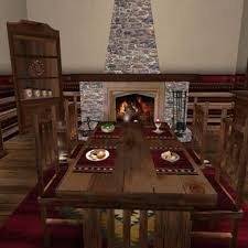 Dining Room Table Sale Second Life Marketplace Special Sale Price Menu Driven Dining