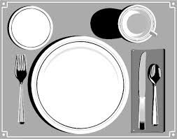 table setting clipart decoration ideas information about home