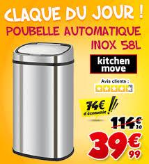 poubelle automatique cuisine poubelle automatique kitchen move à 39 99 au lieu de 114 30