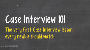 introduction to psychology study guide case interview 101 a great introduction to consulting case study