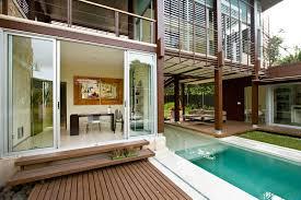 open house design home entrance design decor modern open house with glass sliding door