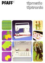 pfaff sewing machine manual pfaff sewing machine manuals instruction and repair manuals