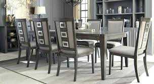 painted dining room table modern gray dining room table and chairs 133 furniture ideas