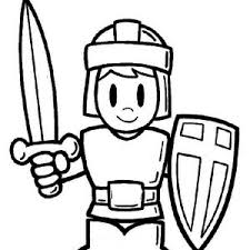 soldiers and knights in armor of god coloring page soldiers and