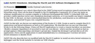 testing for the strawhorse backdoor in xcode u2013 zdziarski u0027s blog of