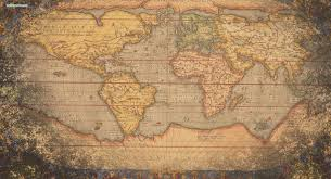 World Map Desktop Wallpaper by Vintage World Map Desktop Wallpaper Wallppapers Gallery