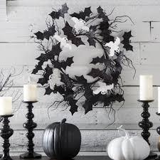 Black And White Room 31 Ideas For Stylish Black U0026 White Halloween Decorations