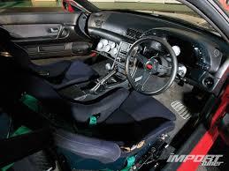 Nissan Skyline Interior 1990 Nissan Skyline R32 Import Tuner Magazine