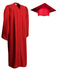 cheap cap and gown matte graduation cap gown graduationsource