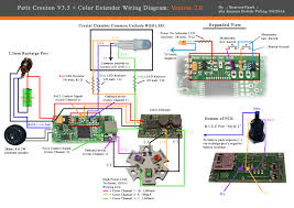 wiring diagram for the petit crouton v3 5 4 0 color extender