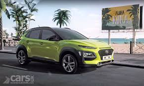 hyundai kona suv u0027s highlights on video show the kona u0027s u0027big car