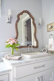 a transitional master bathroom tour carrara marble white