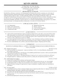 Example Of Business Analyst Resumes Procurement Analyst Resume Sample Resume For Your Job Application