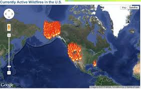 Usfs Fire Map Interactive Travel Map United States Forest Service This Is How