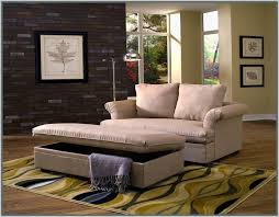 chair and a half with ottoman slipcover decor crave