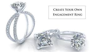 make your own engagement ring custom engagement rings certified diamonds gerry the jeweler