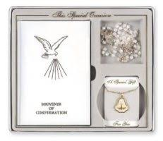 catholic confirmation gifts souvenir of confirmation gift set for a girl confirmation