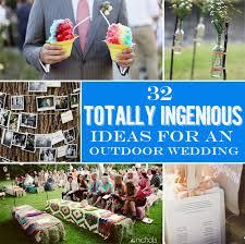 Outside Weddings Creative Of Simple Outside Wedding Ideas 32 Totally Ingenious