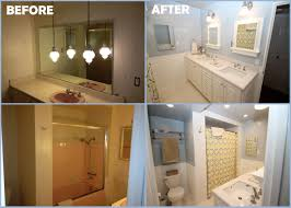 before and after small bathroom makeovers u2013 pamelas table