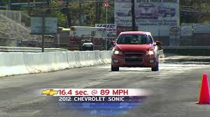road test 2012 chevrolet sonic youtube