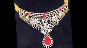 diamond necklace collection images New diamond necklace designs jewellery catalogue jpg