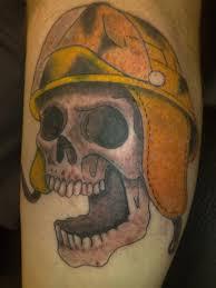 winged skull firefighter