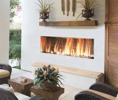 firegear outdoors kalea bay linear fireplace