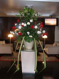 Beautiful Flower Decoration Beautiful Flower Decoration In The Lobby Picture Of Marvel Hotel