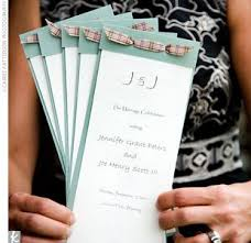 do it yourself wedding programs best out of waste wedding invitations http