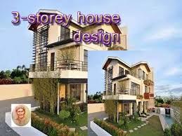 3 storey house plans 3 storey house design